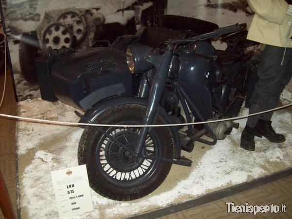 Sidecar BMW R75 del 1942